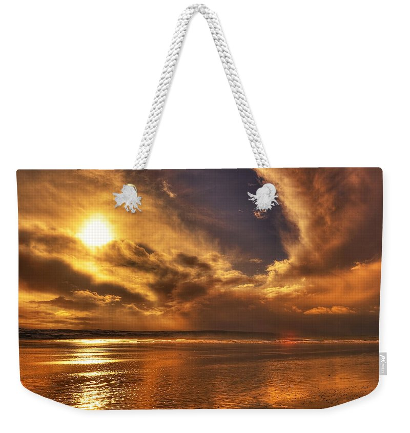 Beach Weekender Tote Bag featuring the photograph Nature Wonders by Svetlana Sewell