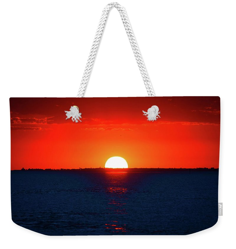 Weekender Tote Bag featuring the photograph Nature's Beauty by Llilys Benavides