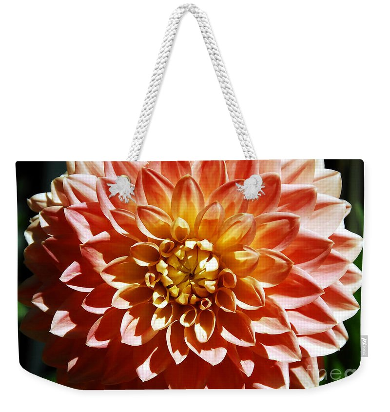 Flower Weekender Tote Bag featuring the photograph Nature's Brilliance by David Lee Thompson