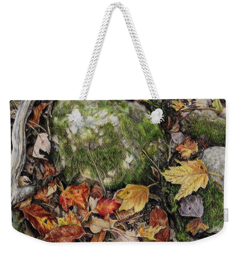 Petrified Weekender Tote Bags