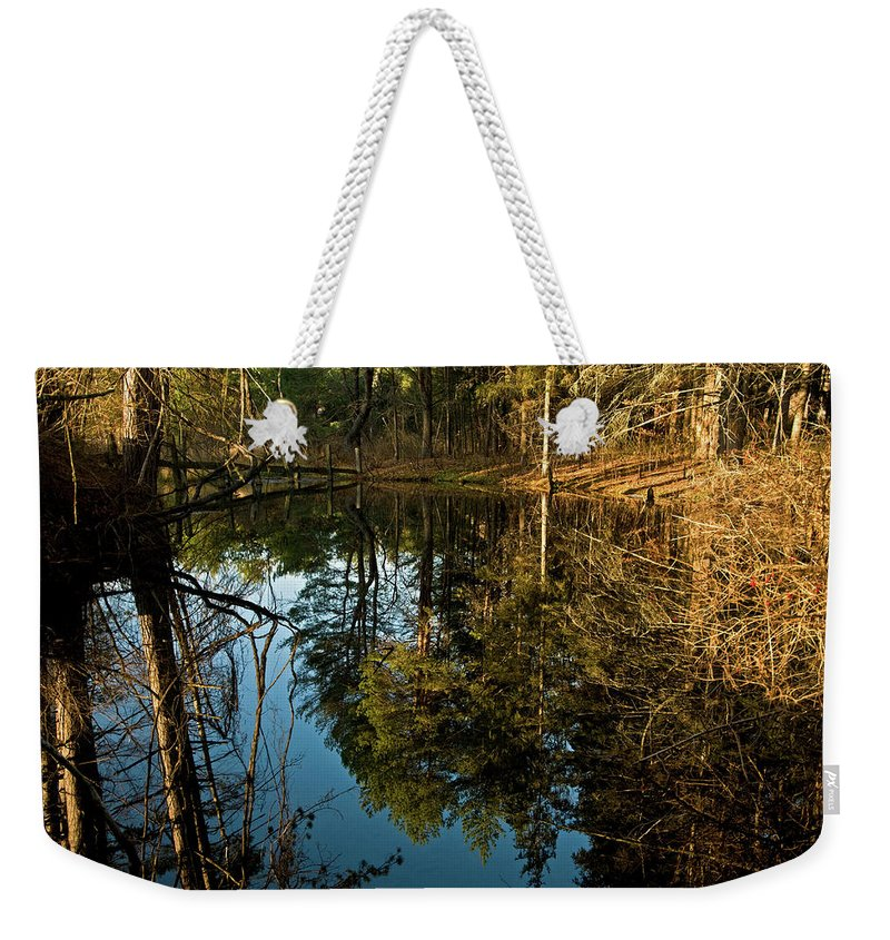 vermont Images Weekender Tote Bag featuring the photograph Natures Elements by Paul Mangold