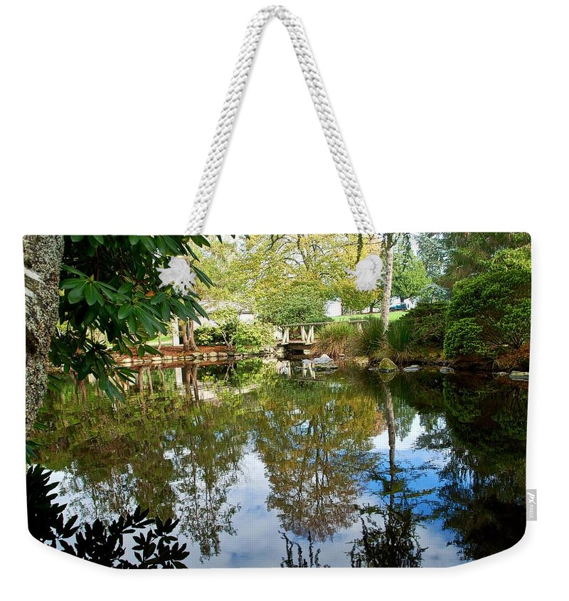 Landscape Weekender Tote Bag featuring the photograph Natures Finest by David Coleman