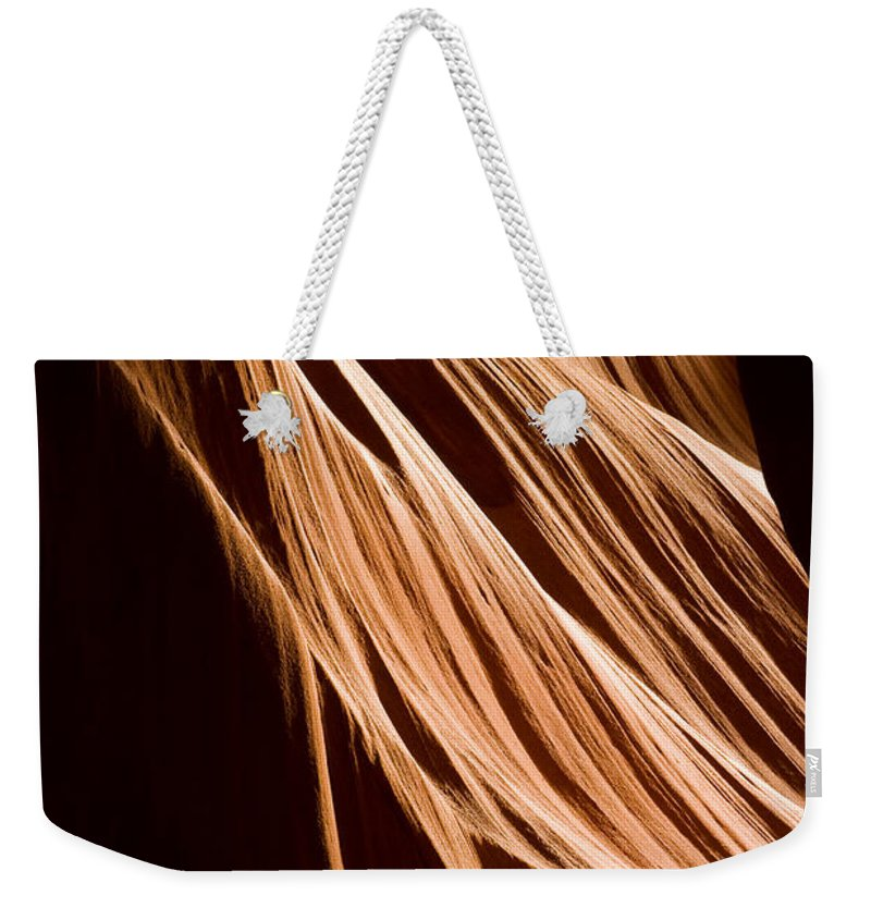 3scape Photos Weekender Tote Bag featuring the photograph Natures Lines by Adam Romanowicz