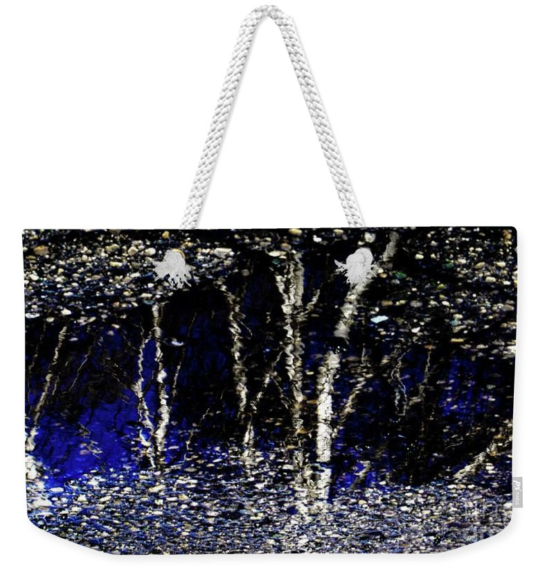 Tree Weekender Tote Bag featuring the photograph Natures Looking Glass 5 by September Stone