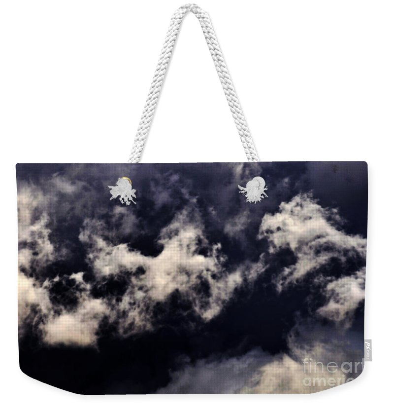 Clay Weekender Tote Bag featuring the photograph Natures Paint Daubs by Clayton Bruster