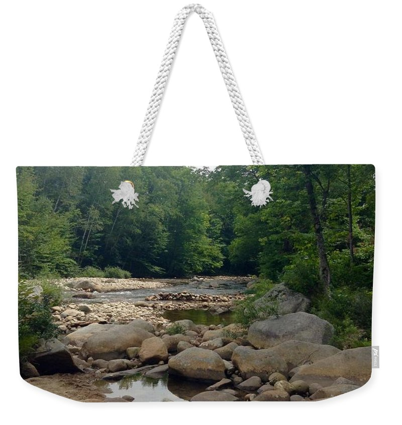 Nature Weekender Tote Bag featuring the photograph Nature's Treasure by Gina Sullivan