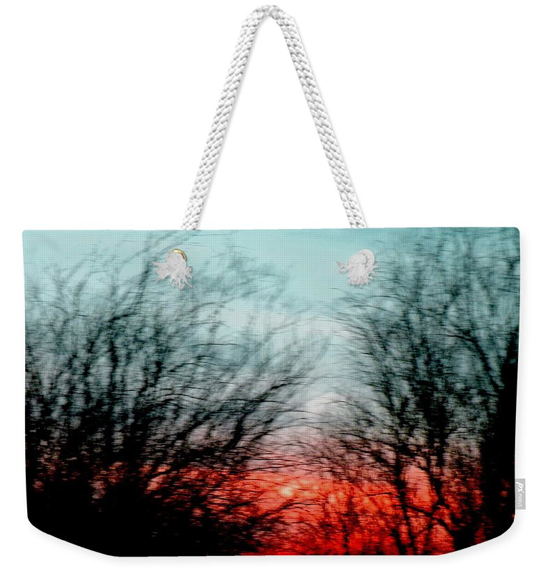 Symphony Weekender Tote Bag featuring the photograph Memory Over Matter No 2 by M Pace