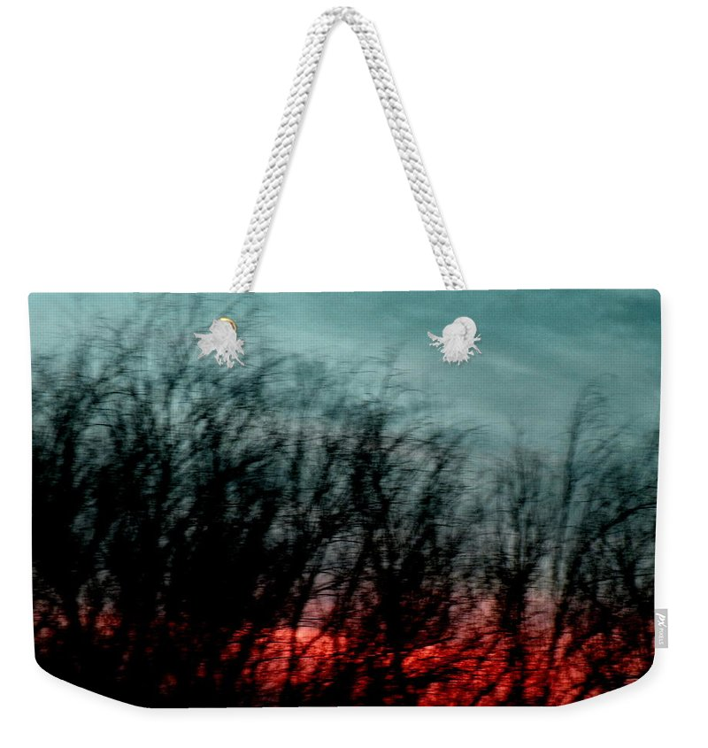 Landscape Weekender Tote Bag featuring the photograph Memory Over Matter by M Pace