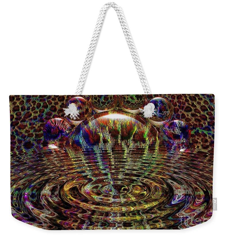 Animal Weekender Tote Bag featuring the digital art Natures Way by Robert Orinski