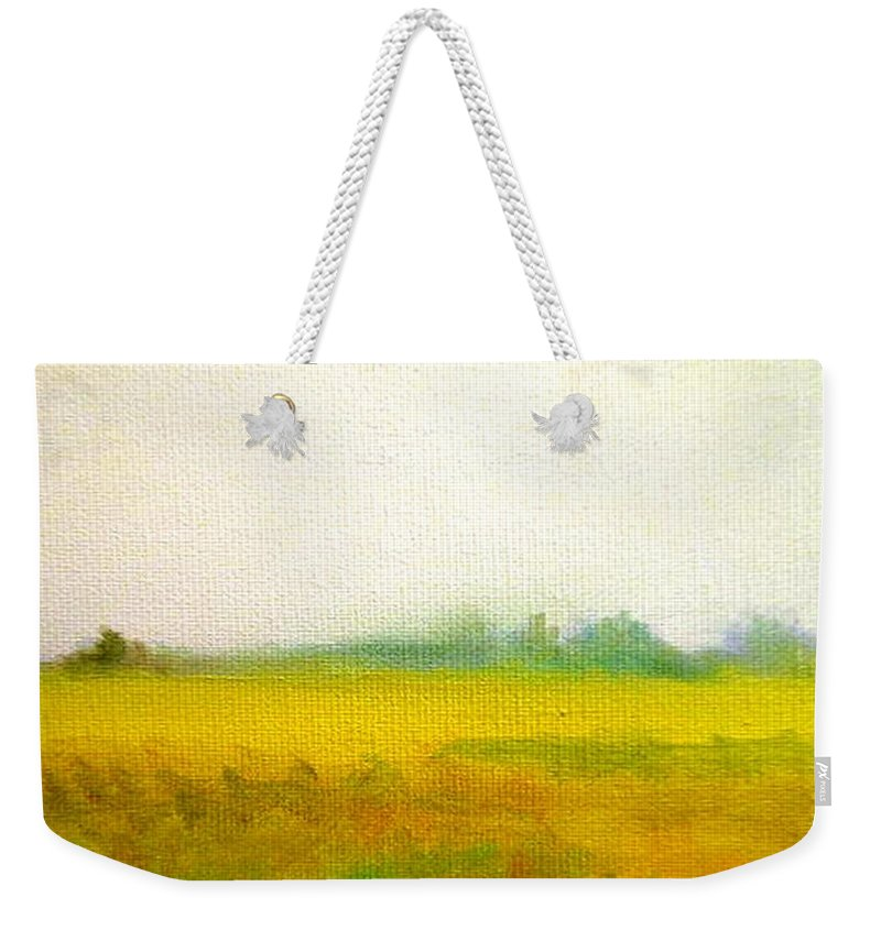Photo Weekender Tote Bag featuring the painting Near Home by Lord Frederick Lyle Morris