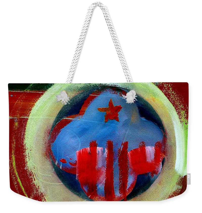 American State Weekender Tote Bag featuring the painting Nebraska by Charles Stuart