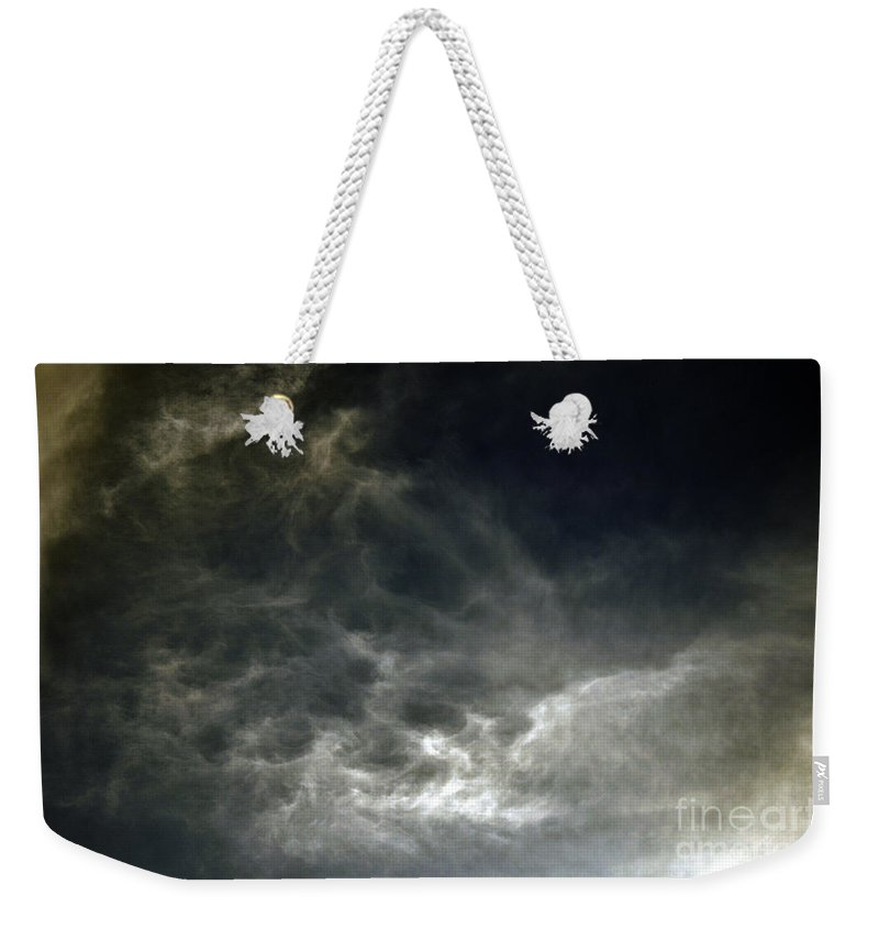 Clay Weekender Tote Bag featuring the photograph Nebulis by Clayton Bruster