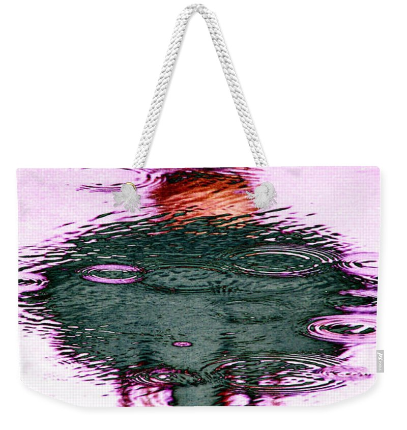 Seattle Weekender Tote Bag featuring the photograph Needle In A Raindrop Stack 2 by Tim Allen