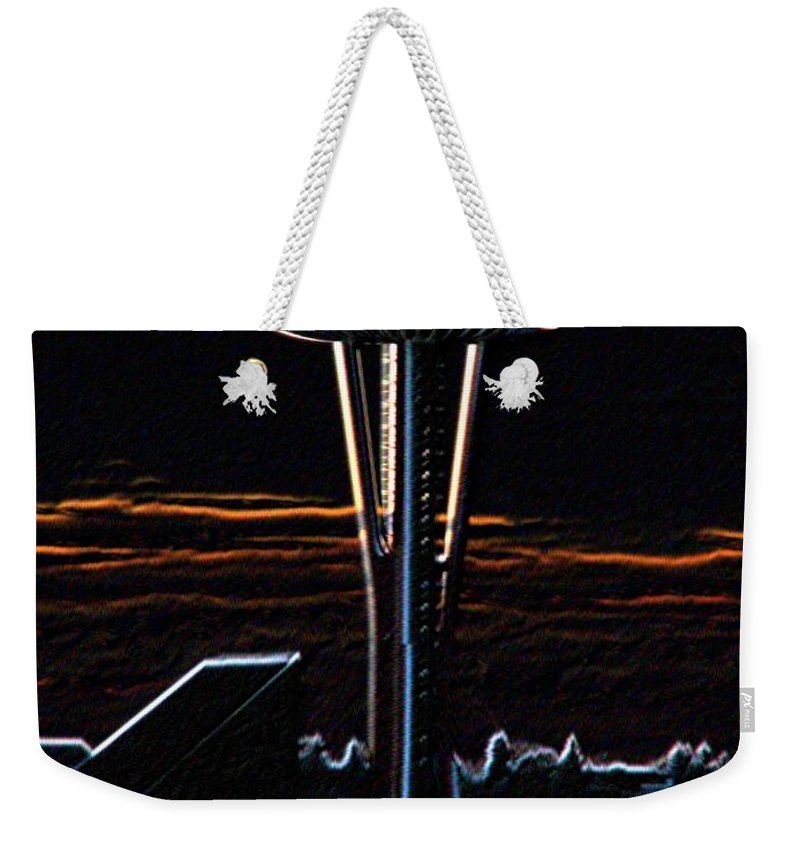 Seattle Weekender Tote Bag featuring the photograph Needles Edge by Tim Allen