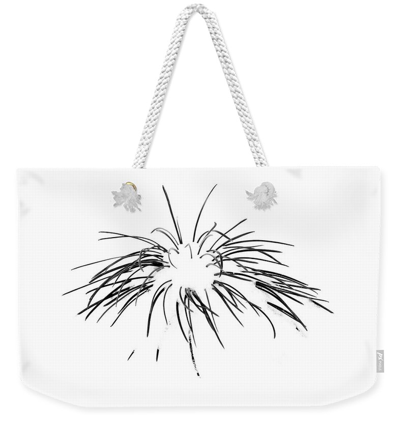 Tree Weekender Tote Bag featuring the photograph Needles in the Snow by Marilyn Hunt