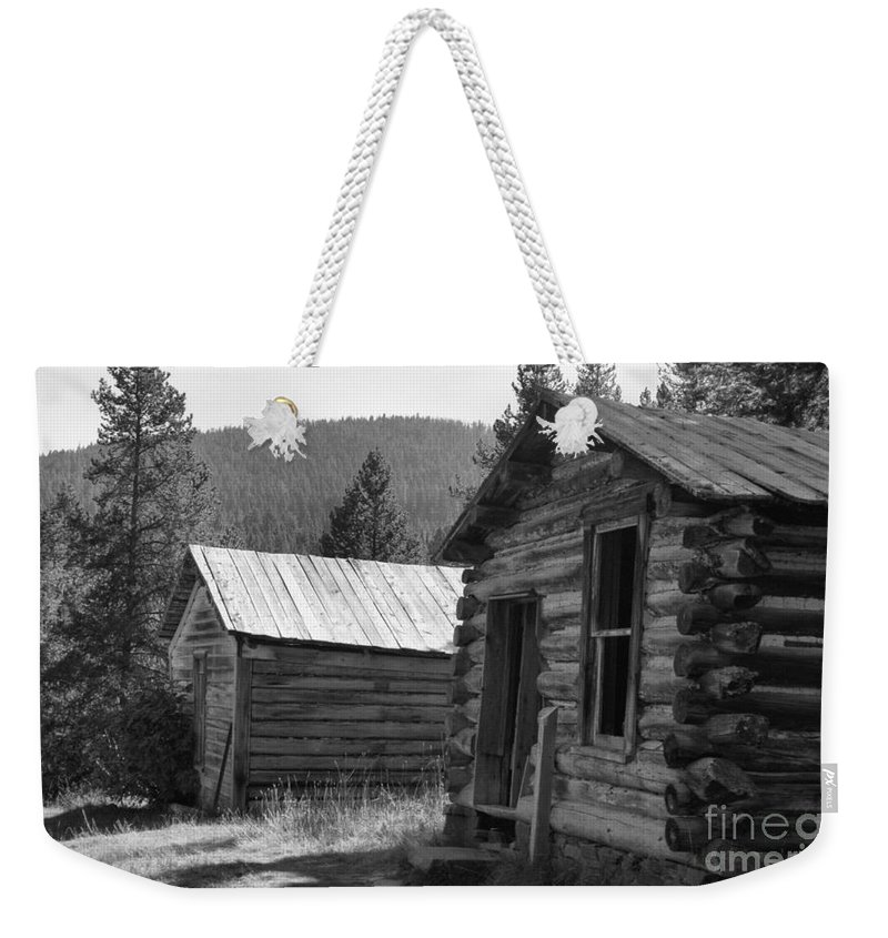 Abandoned Weekender Tote Bag featuring the photograph Neighbors by Richard Rizzo