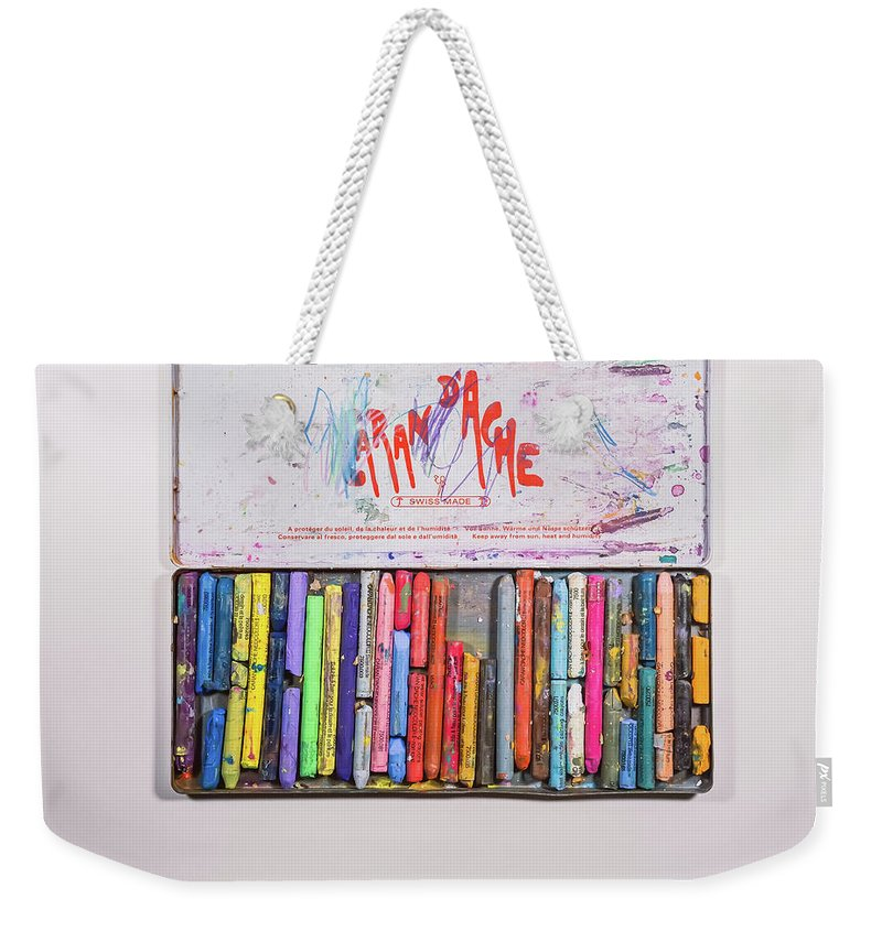 Art Weekender Tote Bag featuring the photograph Neocolor II by Scott Norris