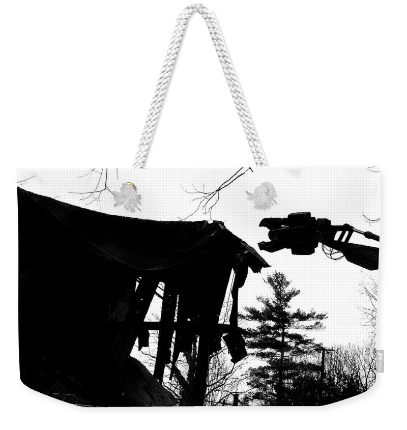 Machine Weekender Tote Bag featuring the photograph Nessie by Jean Macaluso
