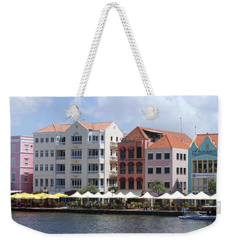 Main Street Weekender Tote Bag featuring the photograph Netherlands Antilles by Heather Coen