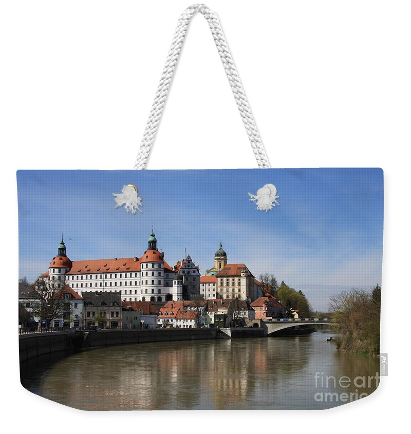River Weekender Tote Bag featuring the photograph Neuburg Donau - Germany by Christiane Schulze Art And Photography