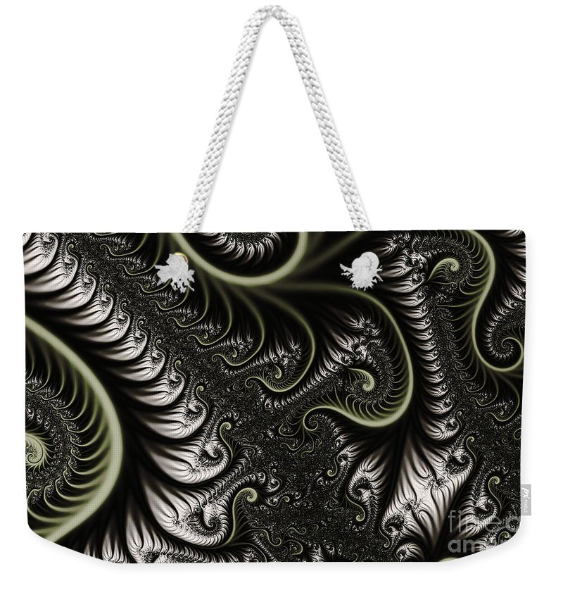 Clay Weekender Tote Bag featuring the digital art Neural Network by Clayton Bruster