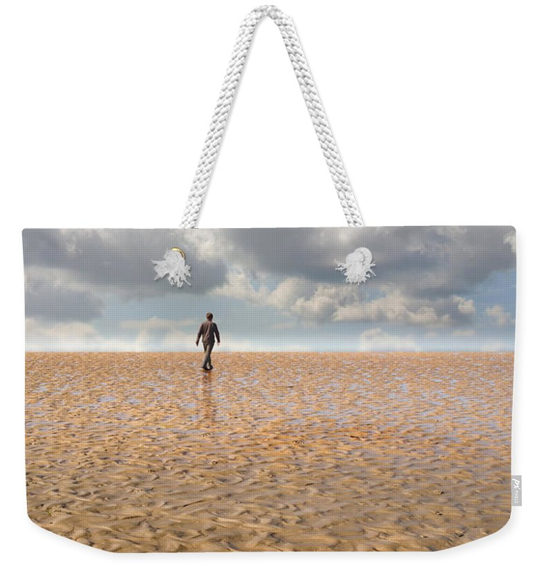 Landscape Weekender Tote Bag featuring the photograph Never Go Back by Mal Bray