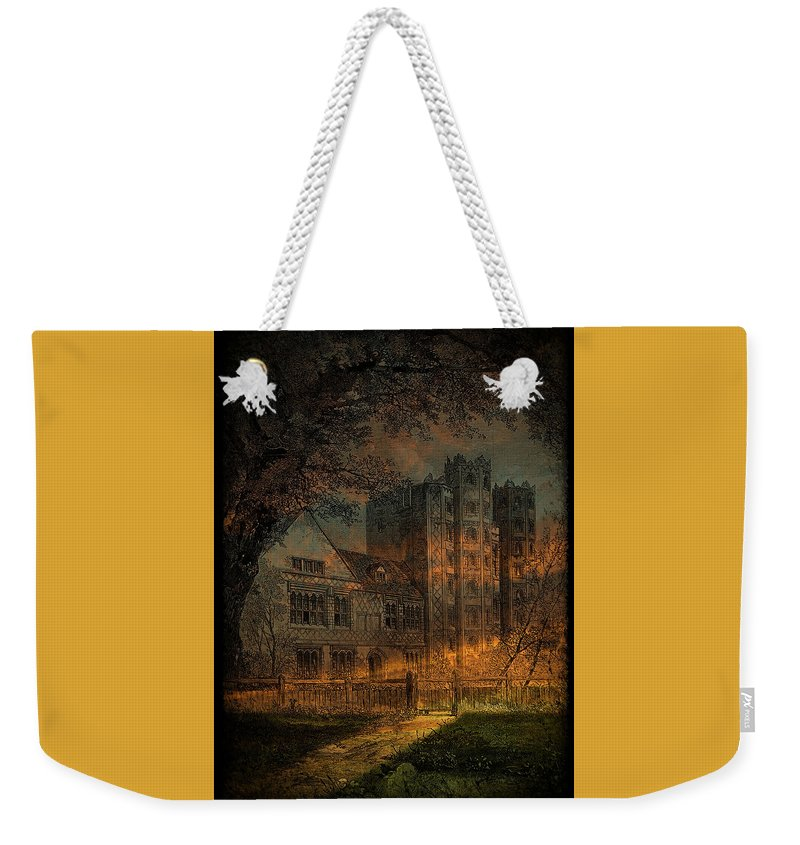 Vintage Weekender Tote Bag featuring the photograph Nevermore by Fran J Scott