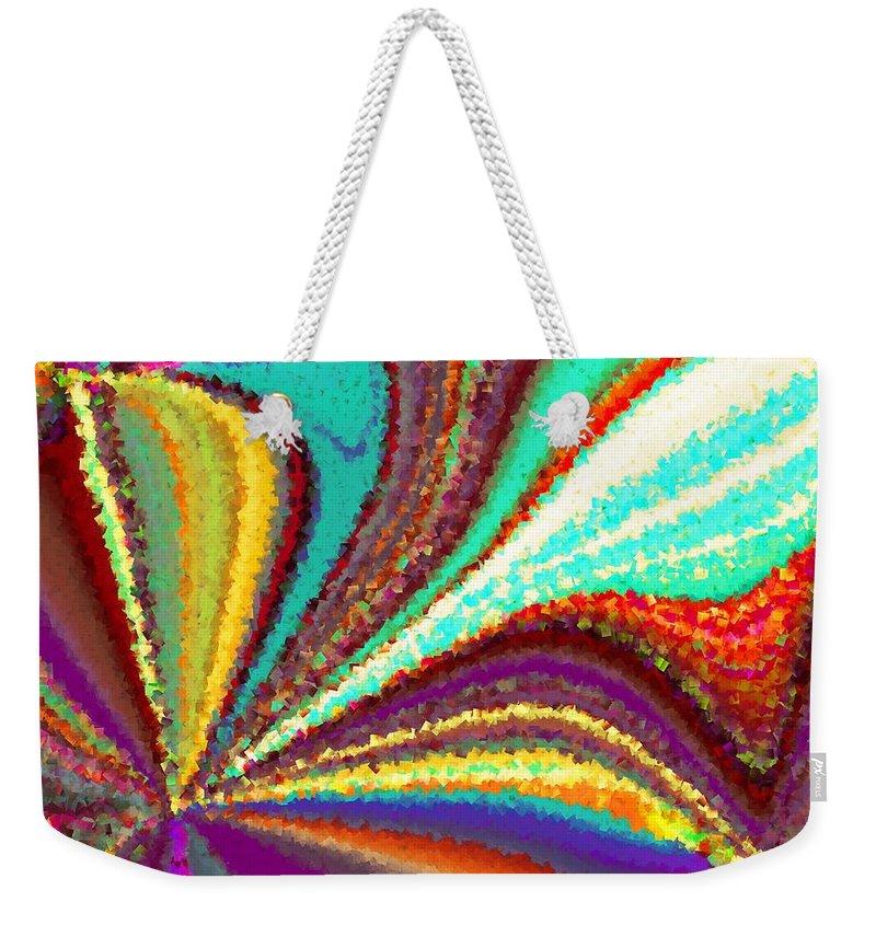 New Weekender Tote Bag featuring the digital art New Beginning by Tim Allen