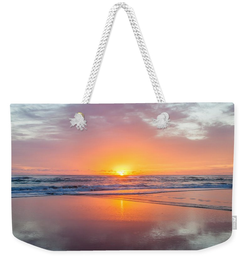 New Beginnings Weekender Tote Bag featuring the photograph New Beginnings by Az Jackson