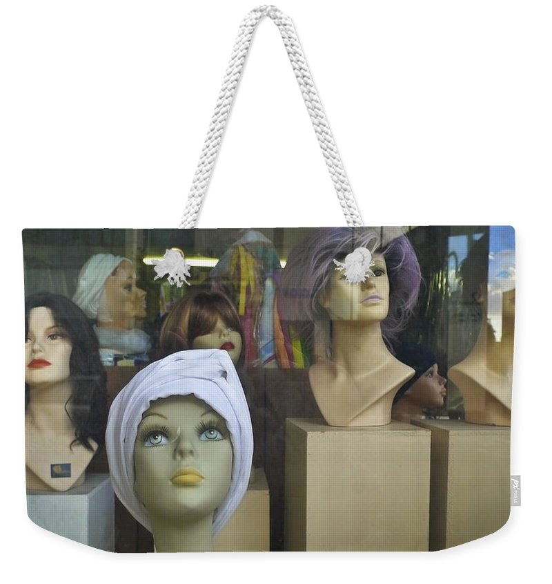 New Girl Weekender Tote Bag featuring the photograph New Girl by Skip Hunt