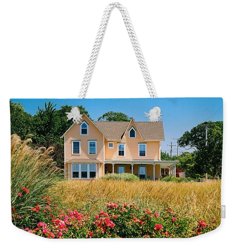 Landscape Weekender Tote Bag featuring the photograph New Jersey Landscape by Steve Karol