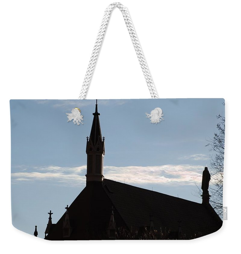 Church Weekender Tote Bag featuring the photograph New Mexican Church by Rob Hans