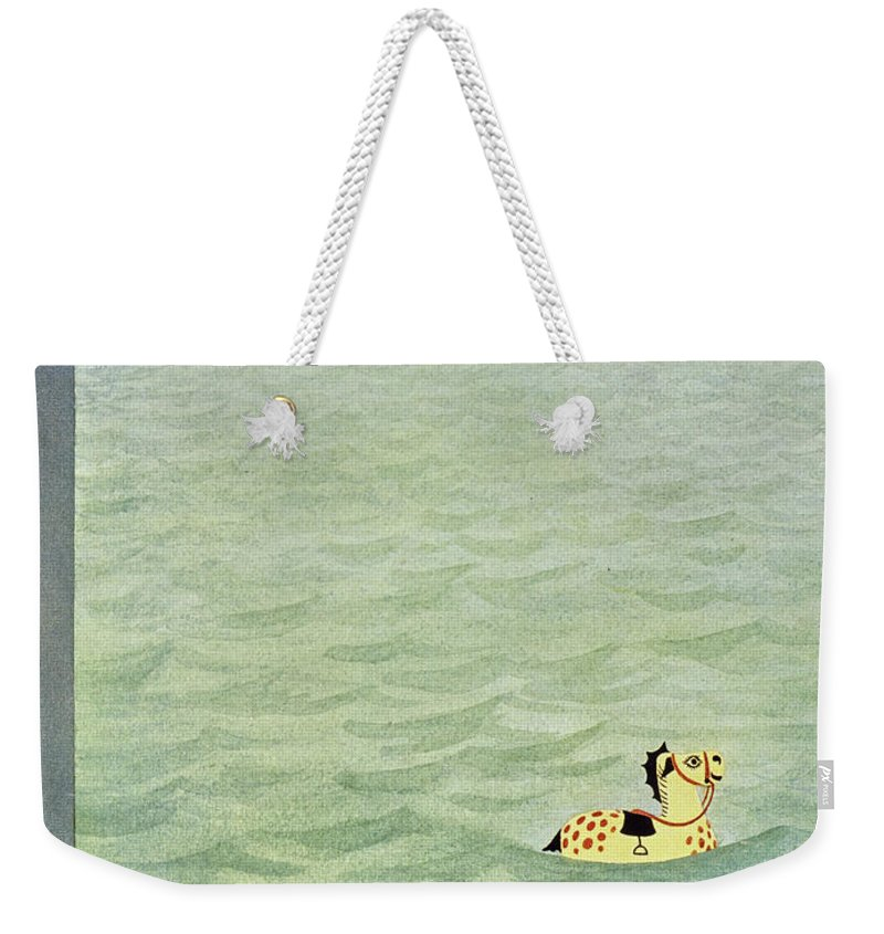 Sea Weekender Tote Bag featuring the painting New Yorker September 5 1959 by Charles Martin