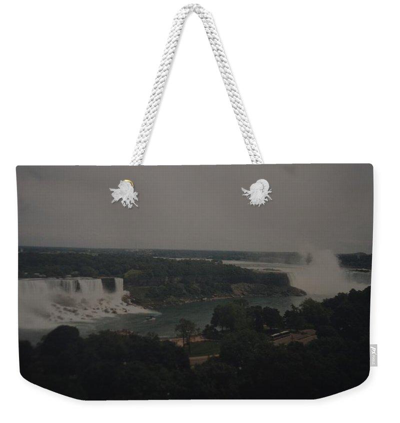 Niagara Falls Weekender Tote Bag featuring the photograph Niagara Falls by Rob Hans
