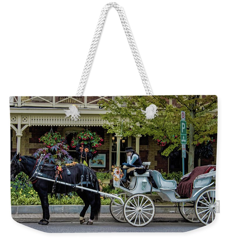Canada Weekender Tote Bag featuring the photograph Niagara On The Lake by Martin Newman