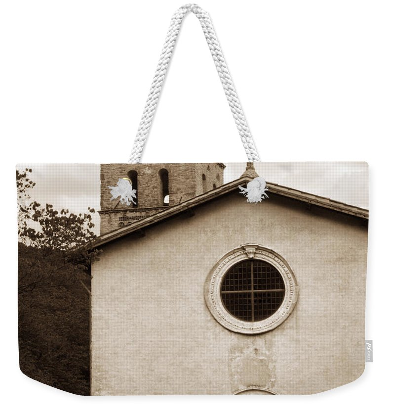 Curch Weekender Tote Bag featuring the photograph Nice Old Church For Wedding by Marilyn Hunt