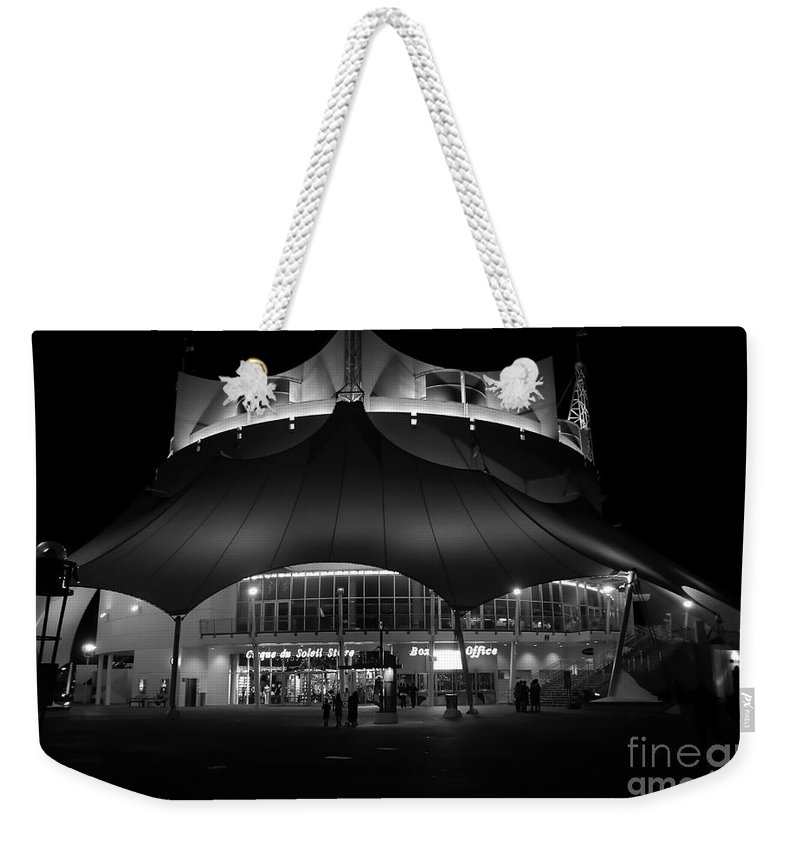 Circus Weekender Tote Bag featuring the photograph Night At The Circus Number Two by David Lee Thompson