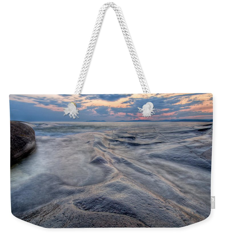 Canada Weekender Tote Bag featuring the photograph Night Moves  by Doug Gibbons