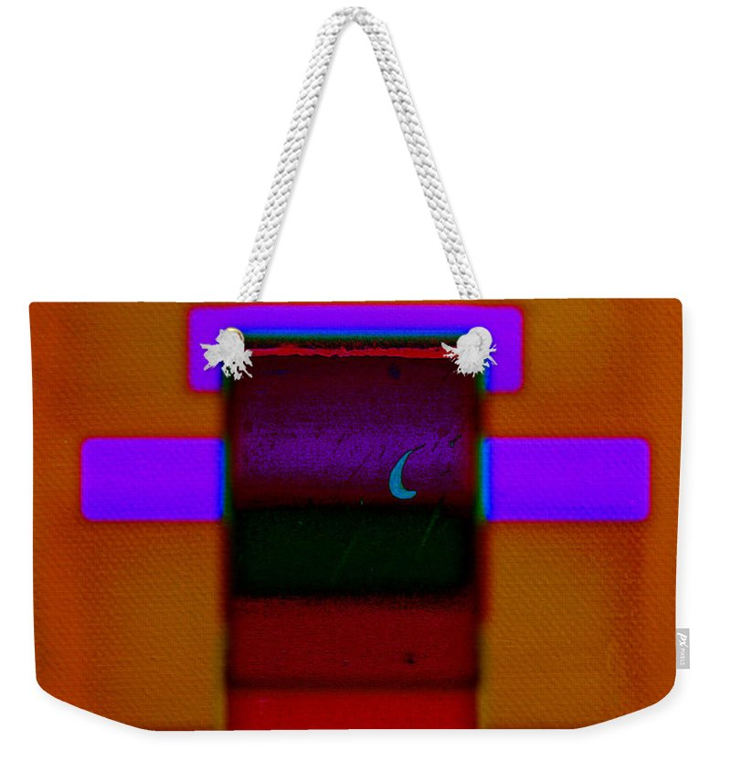 Rothko Weekender Tote Bag featuring the painting Night On The Nile by Charles Stuart