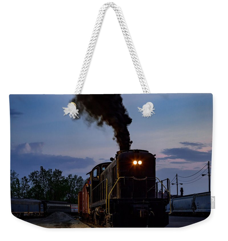 Night Rider Weekender Tote Bag featuring the photograph Night Rider by Dale Kincaid