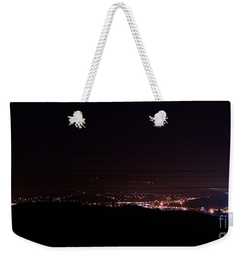 Clay Weekender Tote Bag featuring the photograph Nights In The Valley by Clayton Bruster