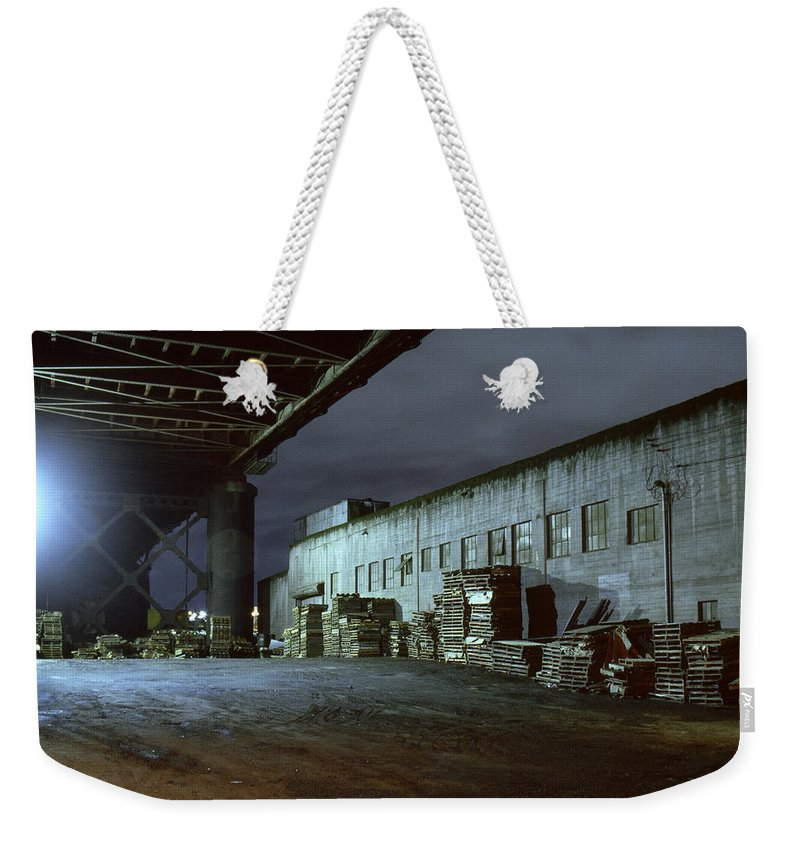 Nightscape Weekender Tote Bag featuring the photograph Nightscape 1 by Lee Santa