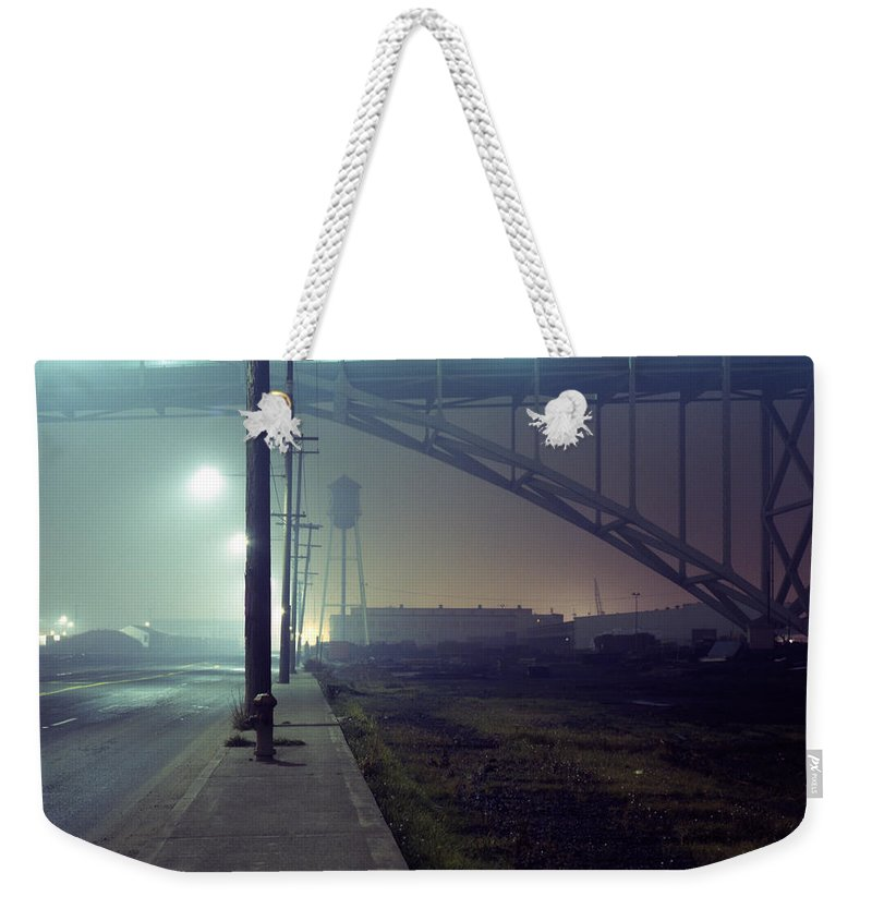 Night Photo Weekender Tote Bag featuring the photograph Nightscape 2 by Lee Santa