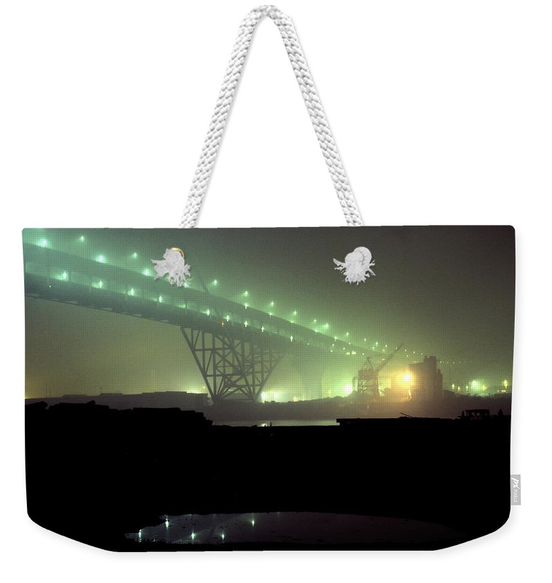 Night Photo Weekender Tote Bag featuring the photograph Nightscape 3 by Lee Santa