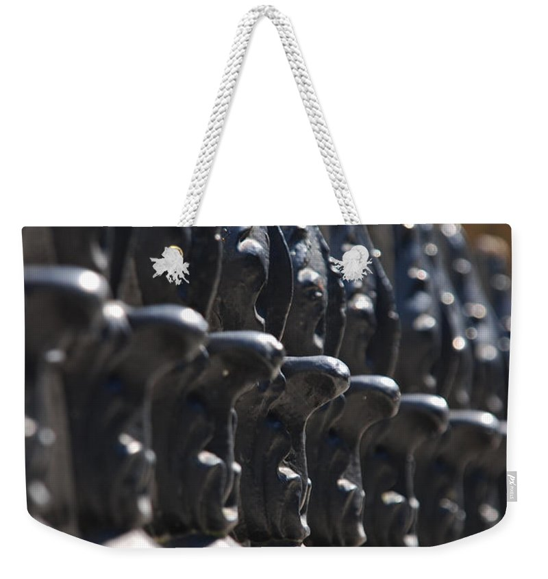Photography Weekender Tote Bag featuring the photograph No Borders by Susanne Van Hulst