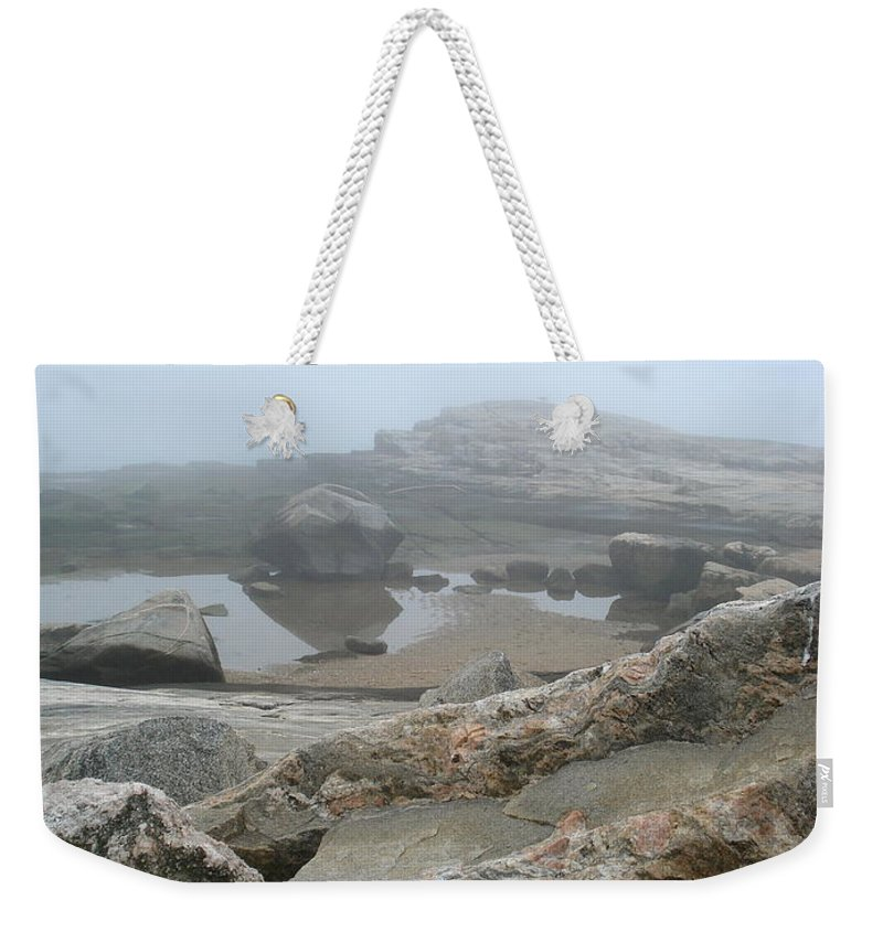 Landscape Weekender Tote Bag featuring the photograph No Line On The Horizon by Nelson F Martinez