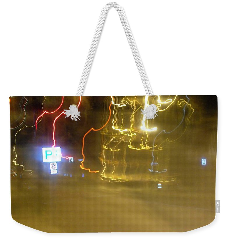 Photograph Weekender Tote Bag featuring the photograph No Parking by Thomas Valentine