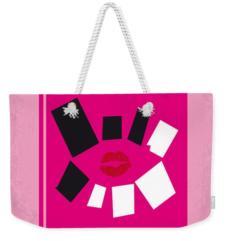 Mean Girls Weekender Tote Bag featuring the digital art No458 My Mean Girls Minimal Movie Poster by Chungkong Art