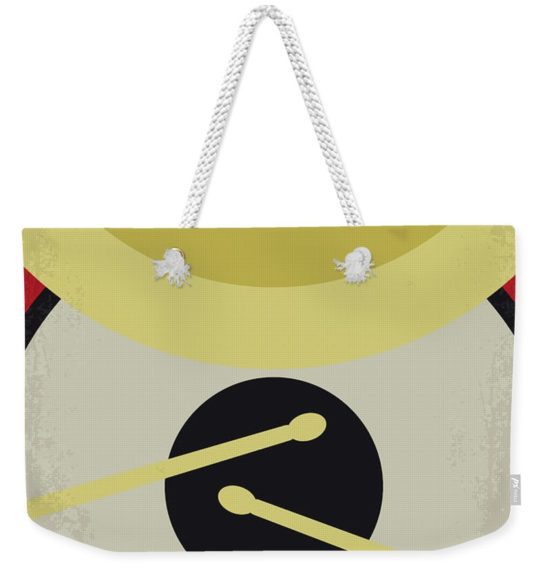 Whiplash Weekender Tote Bag featuring the digital art No761 My Whiplash Minimal Movie Poster by Chungkong Art