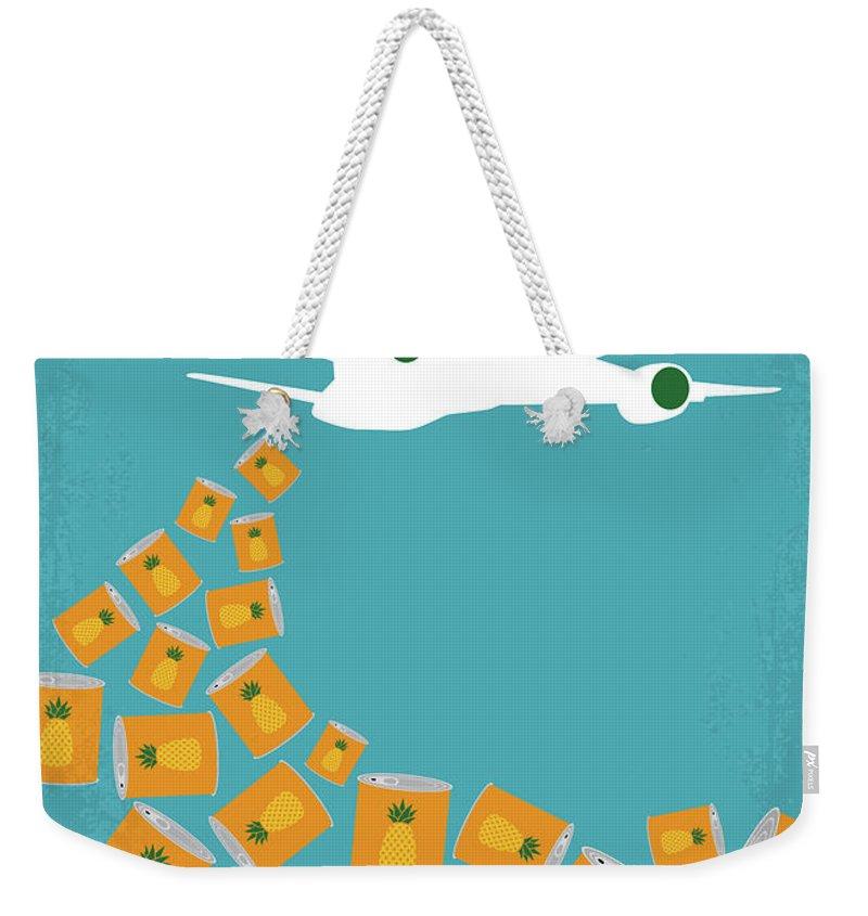 Hong Kong Weekender Tote Bags